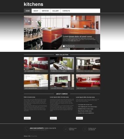 Interior Design Moto CMS HTML šablona