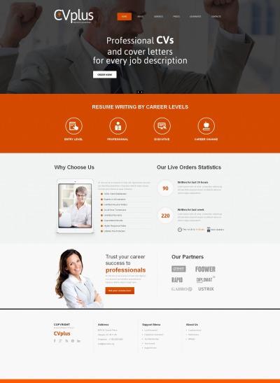 Marketing Agency Moto CMS HTML šablona