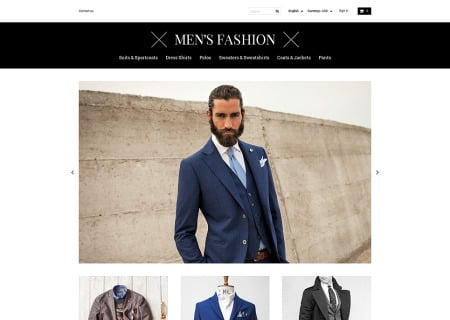 Mens Corporate Fashion Shop