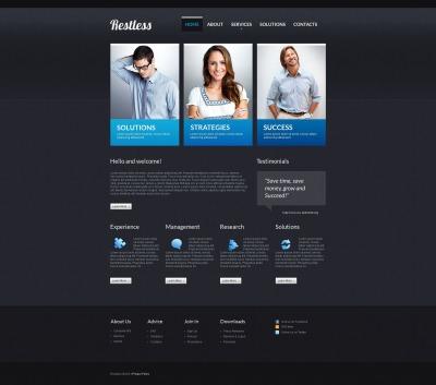 Moto CMS HTML Vorlage für Dienstleistungen-für-Händler