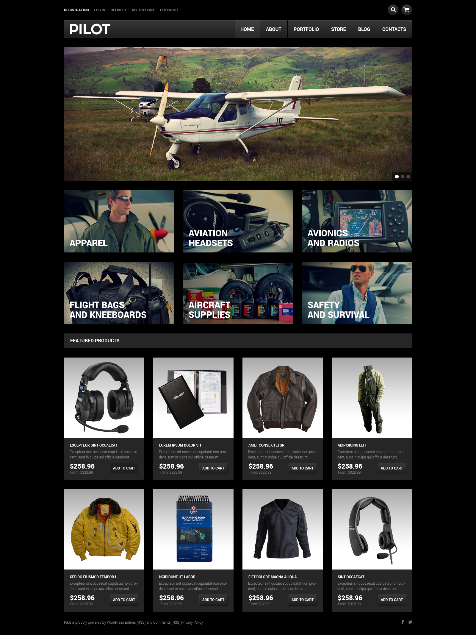 Pilot Shop WooCommerce Theme