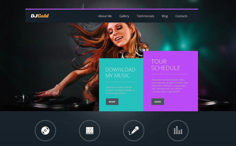 17 Best Singers WordPress Themes & Template