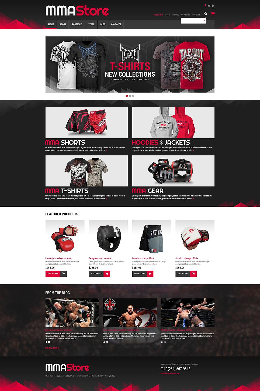 Sport Store WooCommerce Theme New Screenshots BIG