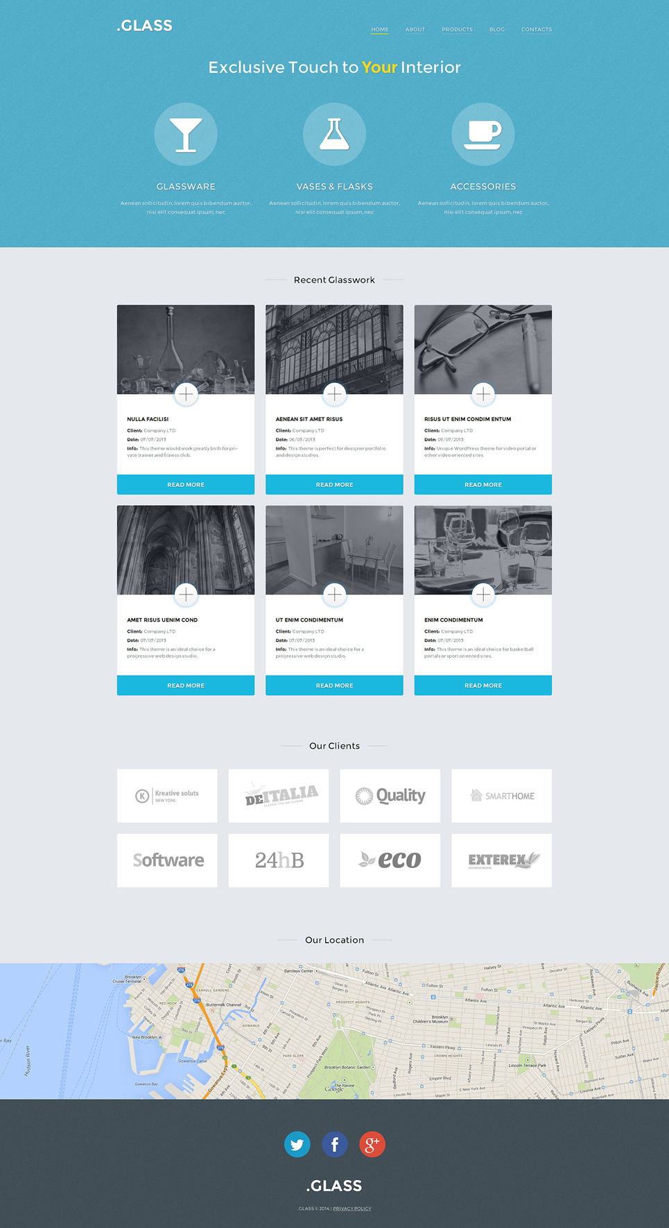 Stock Photo Responsive WordPress Theme New Screenshots BIG