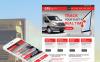 Szablon Moto CMS HTML #49615 na temat: transport ładunków New Screenshots BIG