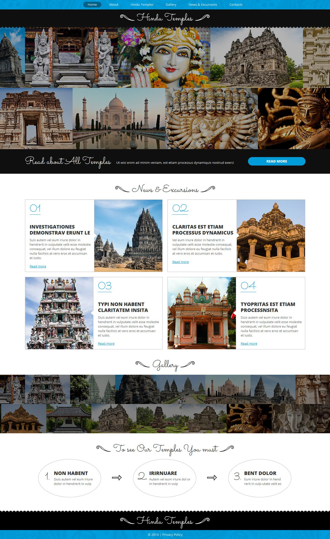 Template Joomla Flexível para Sites de Hinduísmo №49664 - captura de tela