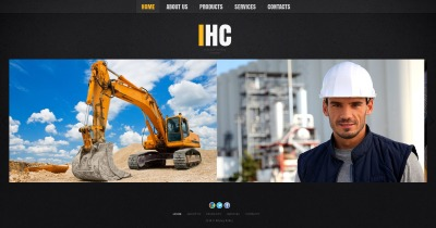 Template Moto CMS HTML №49604 para Sites de Industrial