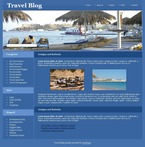 Travel PSD  Template 49708