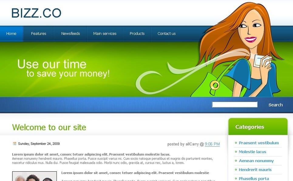 Tema PSD  #49722 per Un Sito di Business e Servizi New Screenshots BIG
