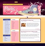 Music PSD  Template 49724