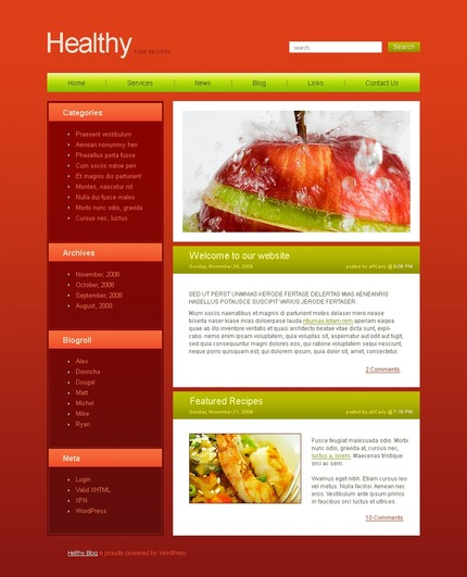 ADOBE Photoshop Template 49727 Home Page Screenshot
