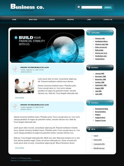 ADOBE Photoshop Template 49738 Home Page Screenshot