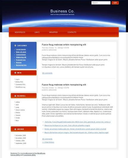 PSD макет сайта №49762