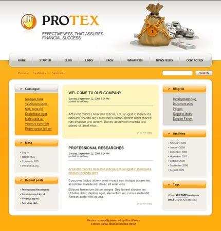 ADOBE Photoshop Template 49763 Home Page Screenshot