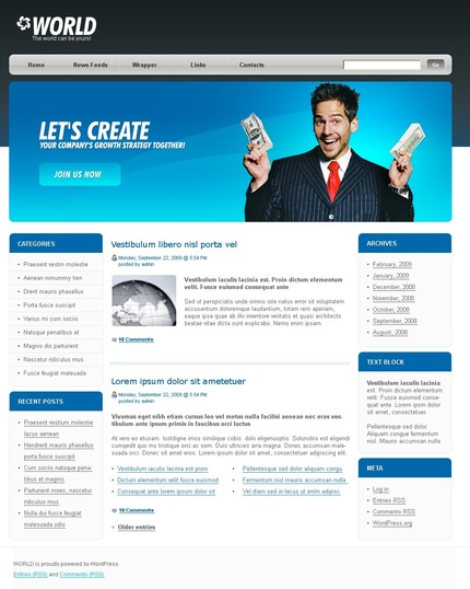 ADOBE Photoshop Template 49772 Home Page Screenshot