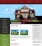 Real Estate PSD  Template 49777