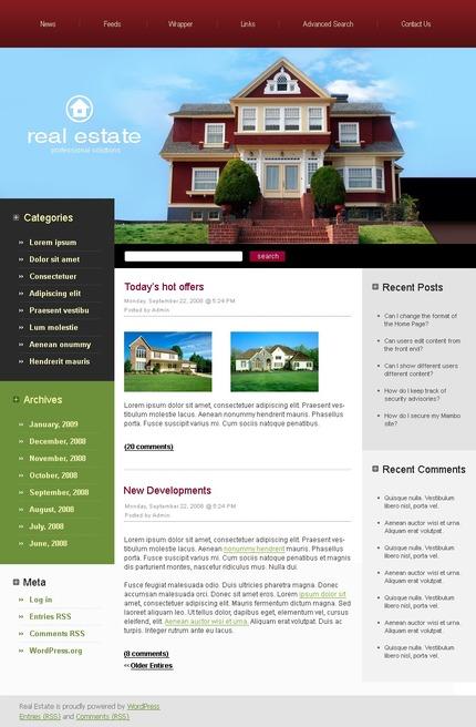 PSD макет сайта №49777