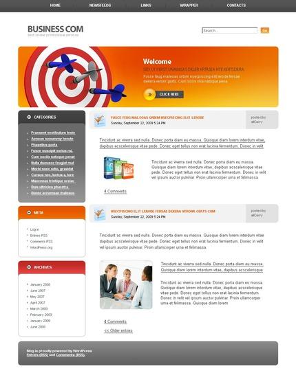 ADOBE Photoshop Template 49778 Home Page Screenshot