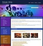 Music PSD  Template 49780