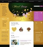 Flowers PSD  Template 49782