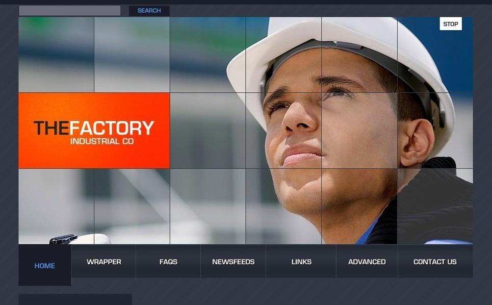 Modello PSD  #49790 per Un Sito di Industria New Screenshots BIG