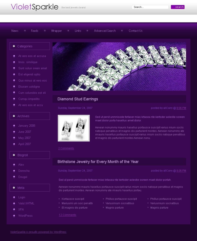 Jewelry PSD Template New Screenshots BIG