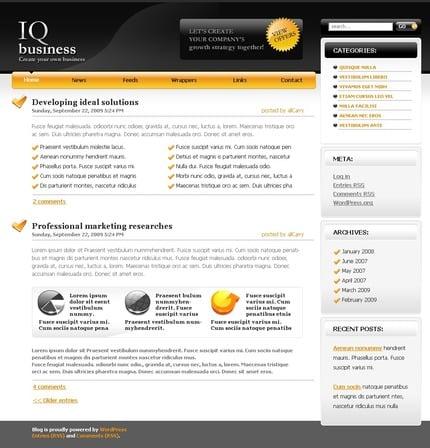 ADOBE Photoshop Template 49802 Home Page Screenshot