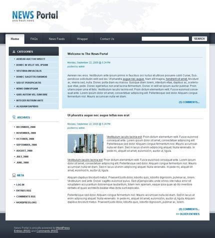 PSD макет сайта №49803