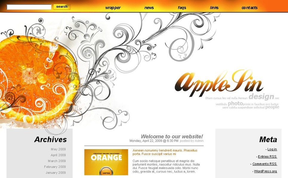 Template Photoshop  para Sites de Estúdio de Design №49805 New Screenshots BIG