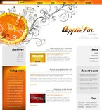 Web design PSD  Template 49805