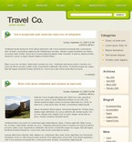 Travel PSD  Template 49806
