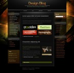 Web design PSD  Template 49809