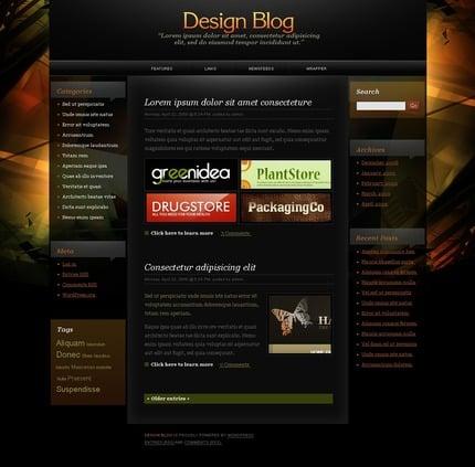 ADOBE Photoshop Template 49809 Home Page Screenshot