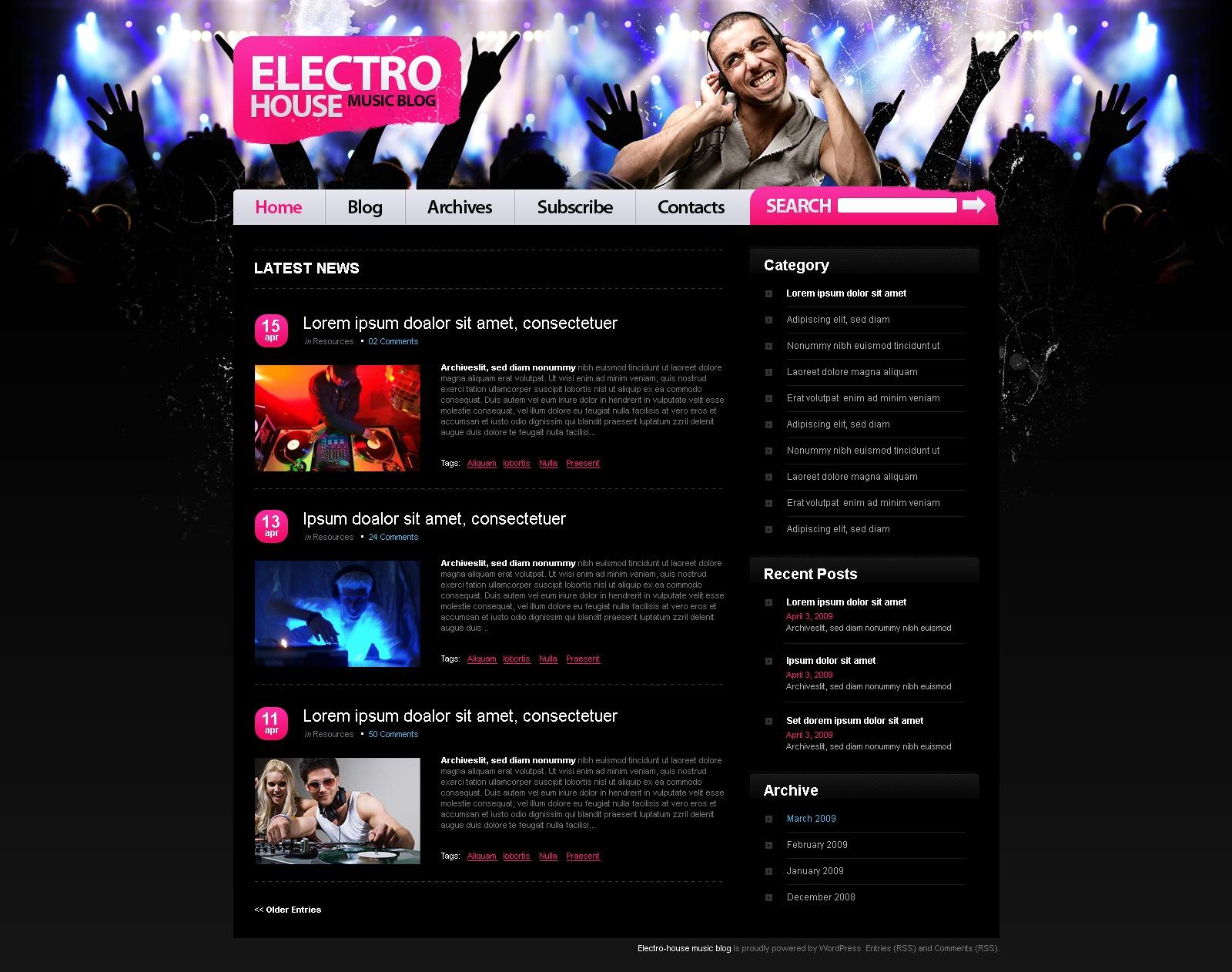 Создание сайта про музыку официальный сайт компании нтк