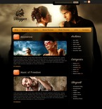 Music PSD  Template 49815