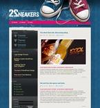 Web design PSD  Template 49816