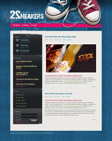 ADOBE Photoshop Template 49816 Home Page Screenshot