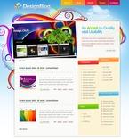 Web design PSD  Template 49817