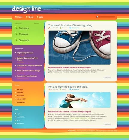 ADOBE Photoshop Template 49819 Home Page Screenshot