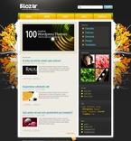Web design PSD  Template 49822