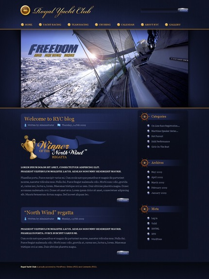 ADOBE Photoshop Template 49825 Home Page Screenshot