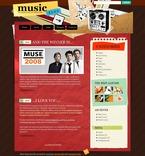 Music PSD  Template 49829