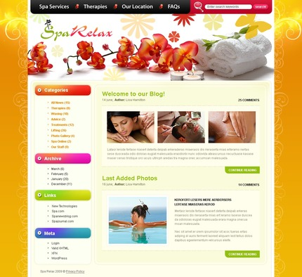 PSD макет сайта №49830