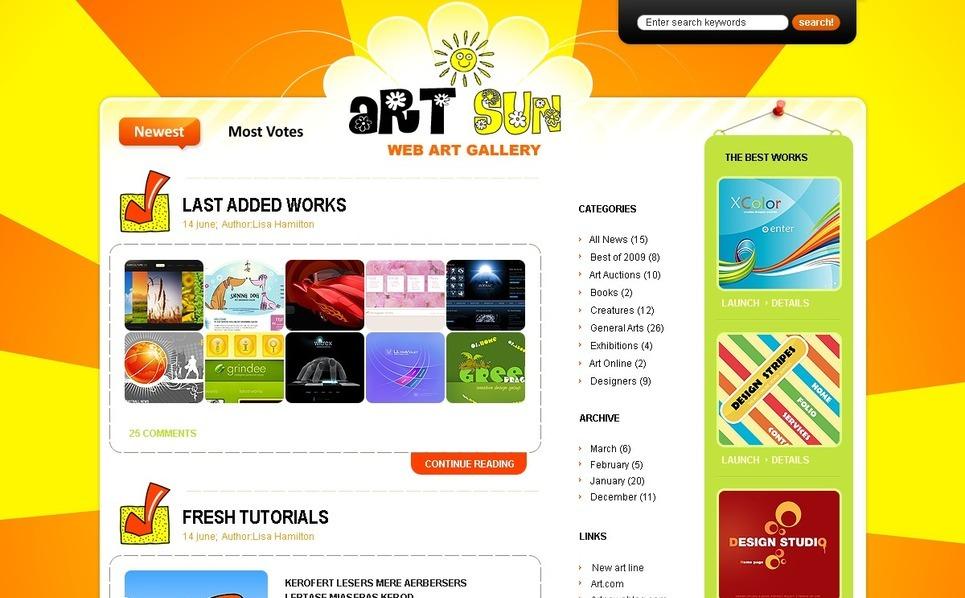 Szablon PSD #49831 na temat: portfolio projektanta New Screenshots BIG