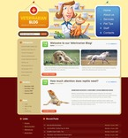 Animals & Pets PSD  Template 49839