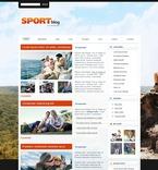 Sport PSD  Template 49843