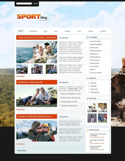 ADOBE Photoshop Template 49843 Home Page Screenshot