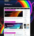 Web design PSD  Template 49846