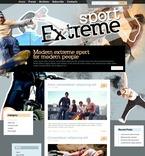 Sport PSD  Template 49849