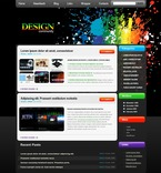 Web design PSD  Template 49850